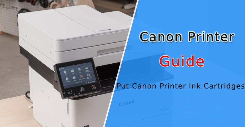Change the ink in Canon printer