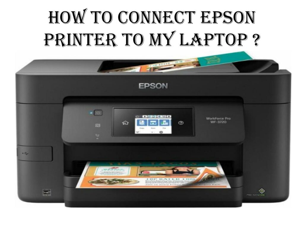 Connect the Epson printer to computer