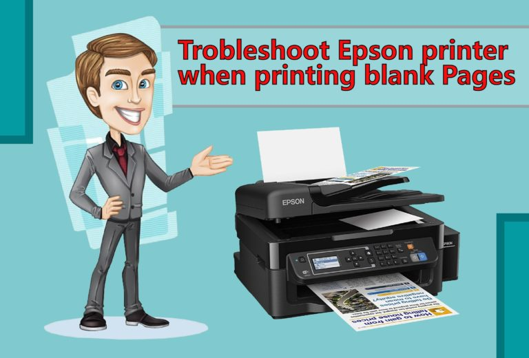 blank page error, Epson Printer Error, Epson, Epson Printer, Epson printer blank page