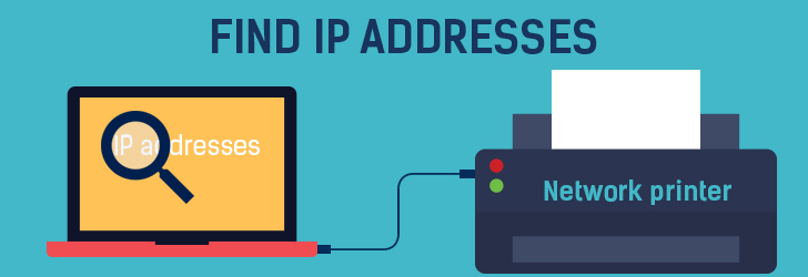 Find the Ip address of the printer