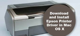 How can I install Epson printer drivers on Mac
