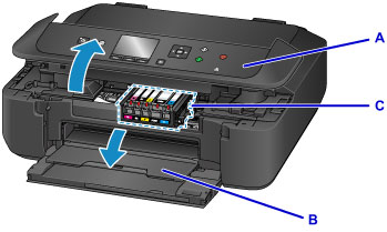 How to change the ink in Canon printer