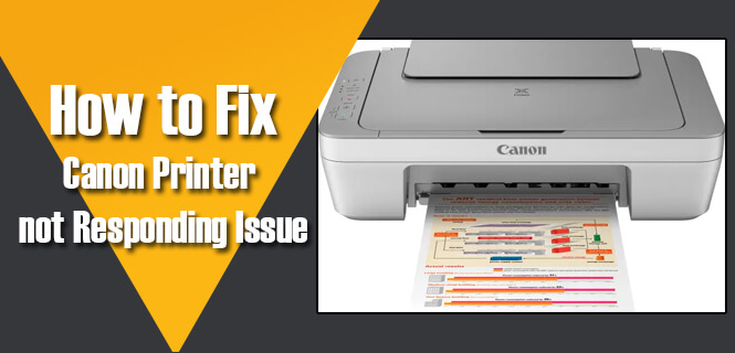 canon printer not responding fix