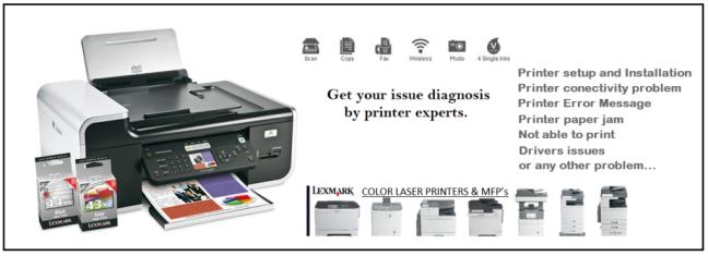Lexmark Printer, Printer,