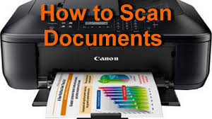 Scan on Canon printers