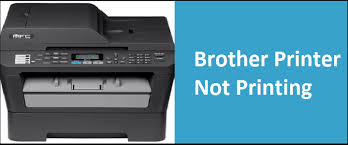 brother printer connected to wifi but will not print