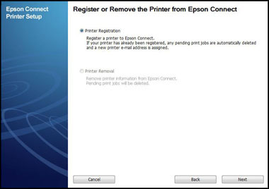 connect the Epson printer to Wifi on Mac