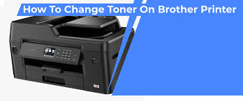 how to change toner on brother printer