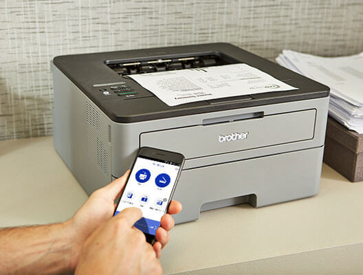 how to print from iPhone to brother printer