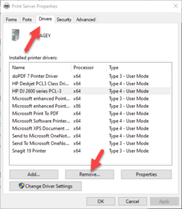HP printer not detected issue windows