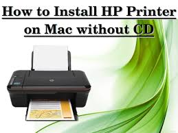 Install HP printer without Cd on Mac