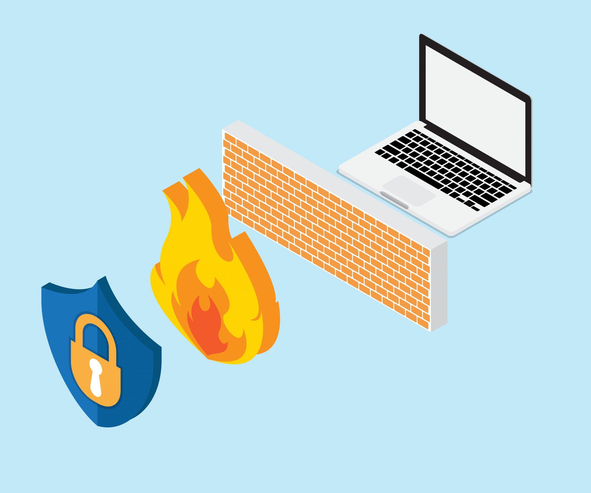 check firewall status for printer not responding error