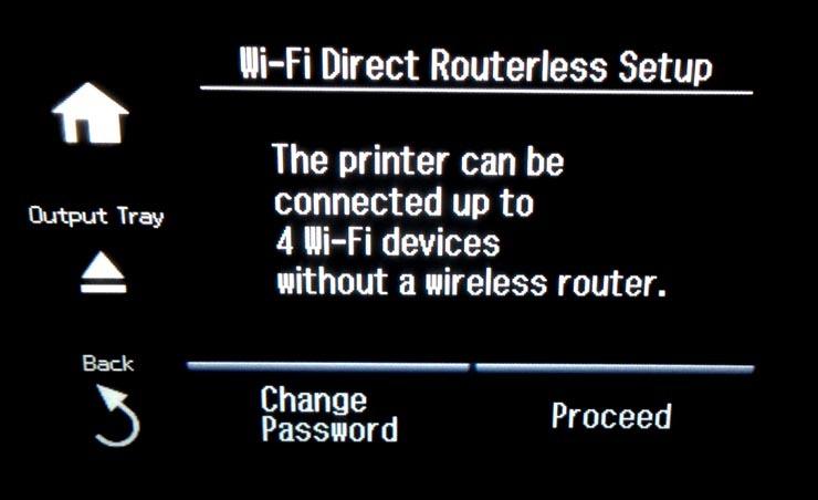 HP deskjet plus 4100 wifi direct: Wifi direct setup