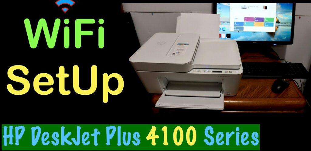 Hp deskjet plus 4100 manual: wireless method