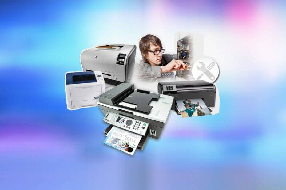fix printer not responding error