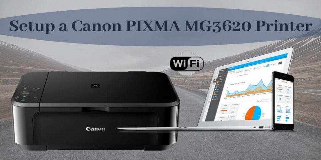 Setup the Wireless Connection on Canon PIXMA MG3620 Printer: windows 10
