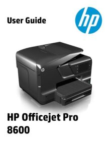 hp 8600 ink: unboxing