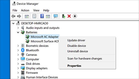 repairing Hp printers: update drivers