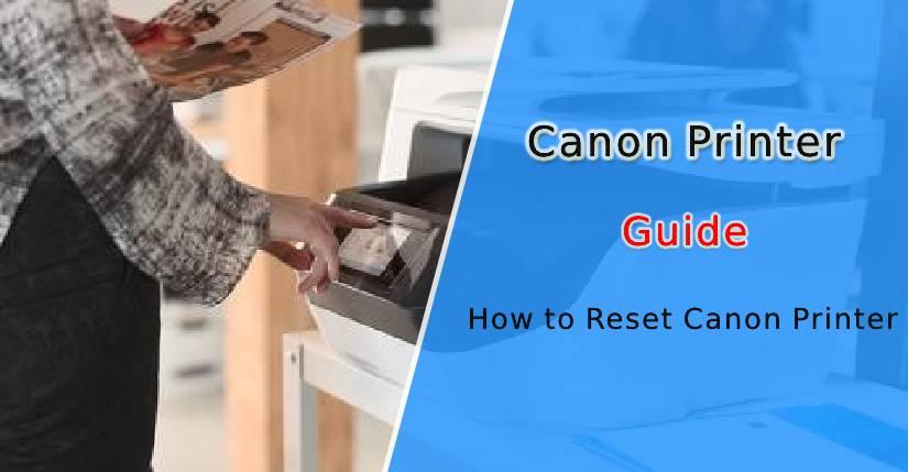 reset Canon printer
